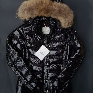 moncler coar fox fur